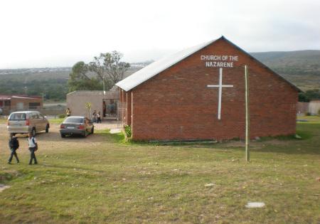 Het kerk gebouw in Port Elisabeth - Zuid Afrika