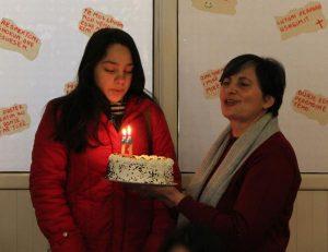 Taart voor de verjaardag