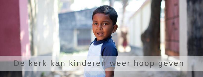 de kerk kan kinderen weer hoop geven